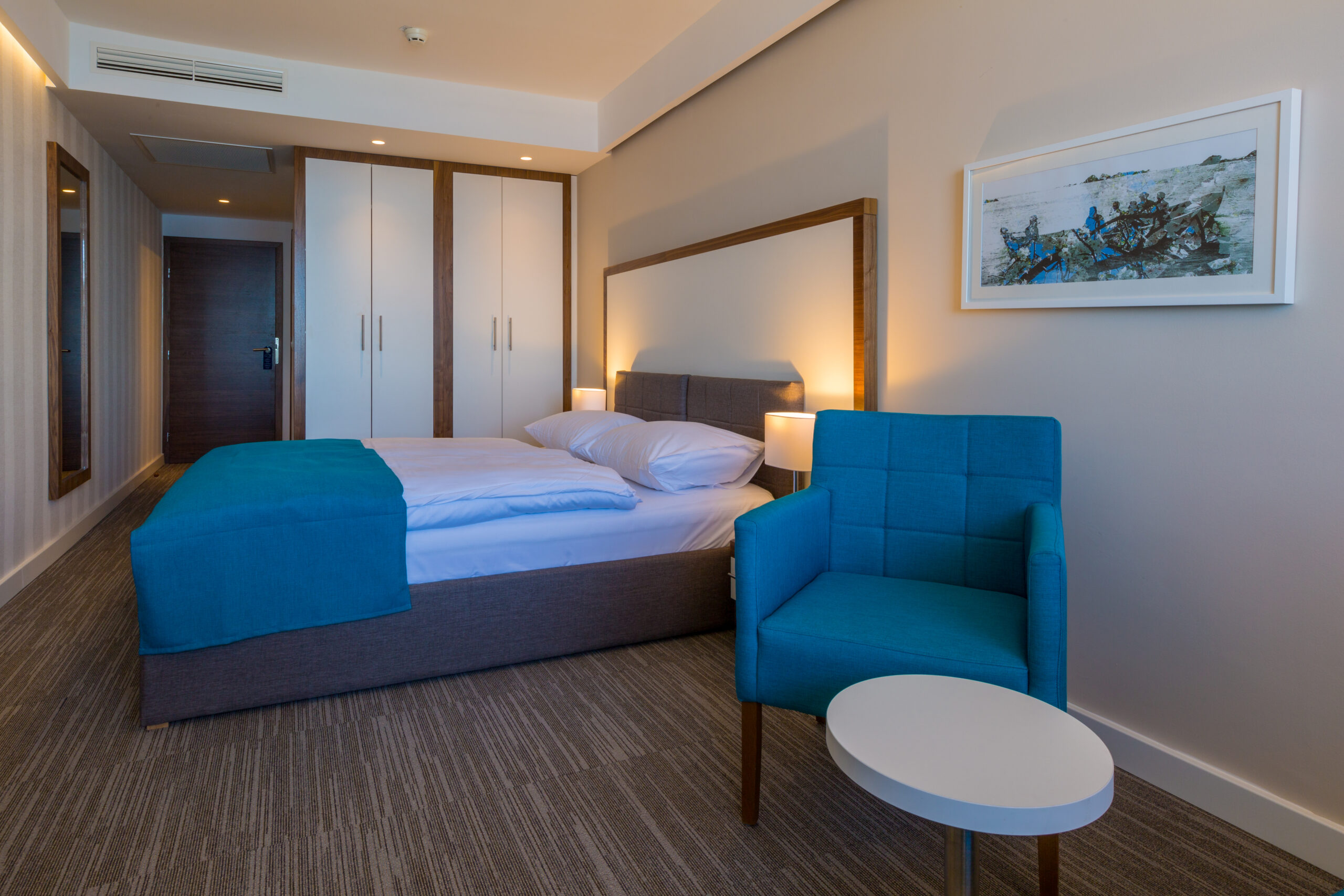 Standard double or twin room, french balcony_hotel Katarina (1)